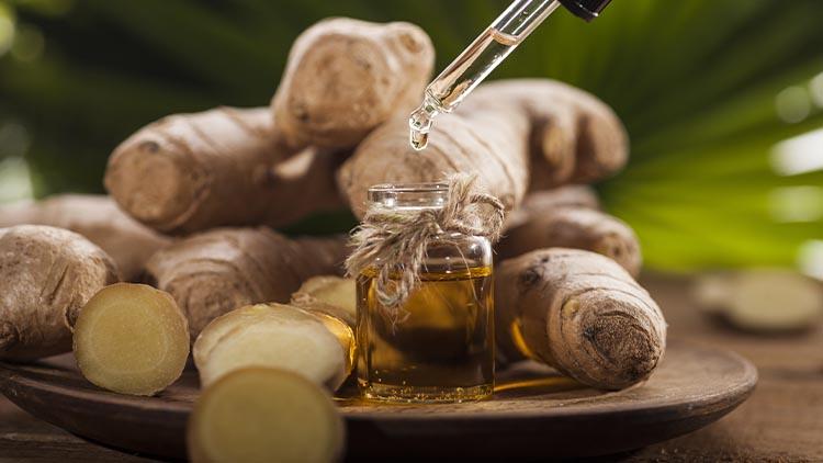 Ginger aphrodisiac essential oil