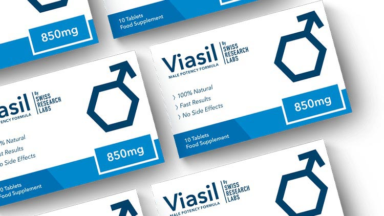 viasil product boxes