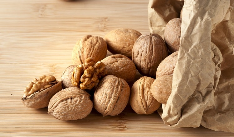 Walnuts increase nitric oxide